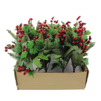 30cm Berry Holly & Pine Bundle