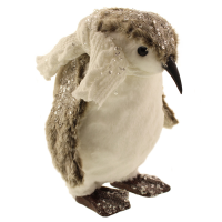 26cm Plush Sequin Penguin