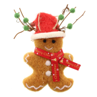 16cm Felt Gingerbread Man