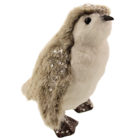 20cm Plush Sequin Penguin