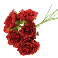 30cm Large Foam Rose Bundle