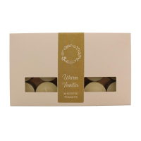 Warm Vanilla Tealights 30 Pack