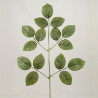 58cm Rose Leaf spray