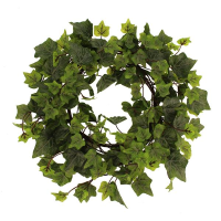 38cm Outdoor Ivy Wreath