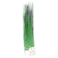 30cm Grass Stand With Lavender