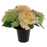 23cm Memorial Pot Arrangement