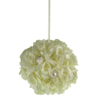 9cm Wedding Rose Pomander