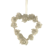 15cm Wedding Rose Heart