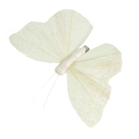 9.5cm Butterfly on clip
