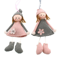 30cm Assorted Fabric Girl