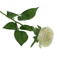 40cm Single Real Touch Rose