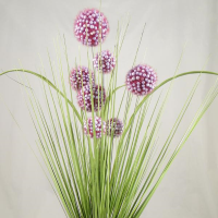 66cm Allium Grass Bush