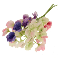45cm Assorted Sweet Pea Pick