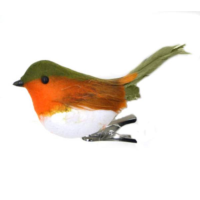 11cm Robin with Clip