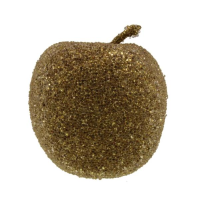 5.5cm Frosted Apple Decor