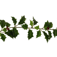 180cm Holly and Berry Garland