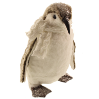 36cm Plush Sequin Penguin