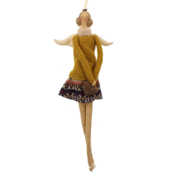45cm Fabric Angel Ballerina