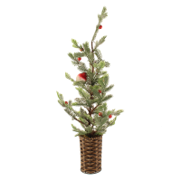 68cm Frosted Tree in Basket