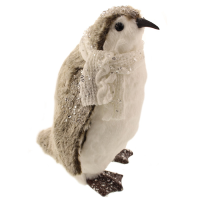 30cm Plush Sequin Penguin