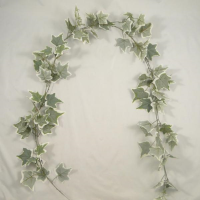 182cm 3D Flocked Ivy Garland